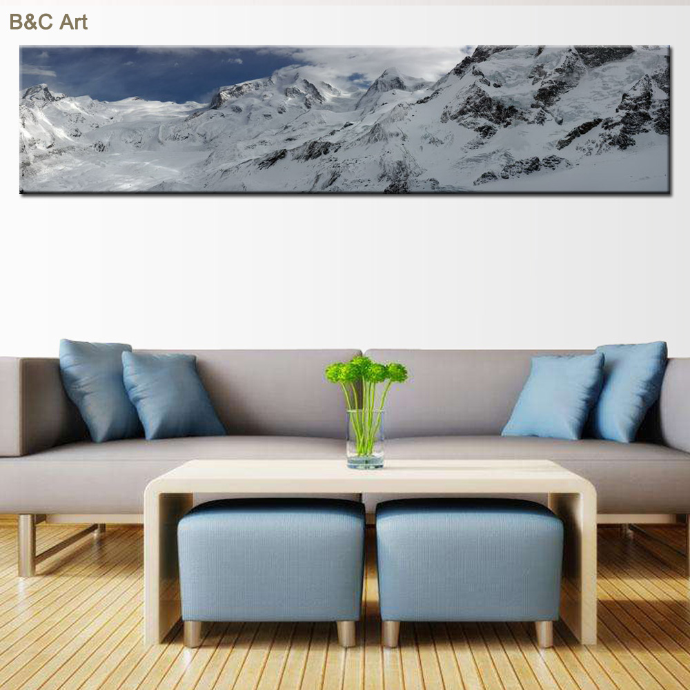High Quality Large Size Canvas Wall Art Prints Fabric Painting Designs
