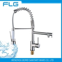 Factory New Product Lead Free Nickel Brush UPC Pull Down Kitchen Sink instant electric water heater tap