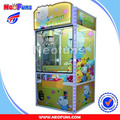 Mini Fairyland Small Prize Vending Machine, Coin Operated Arcade Gift Prize Crane Claw Game Machine For Kids