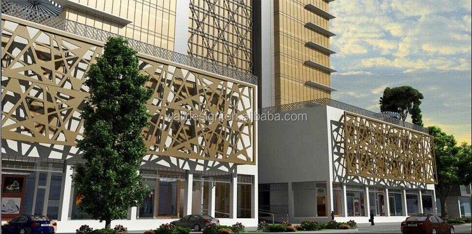 Laser Cut Metal Screens For Hotels Decoration View Laser