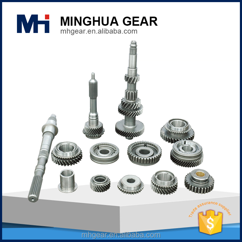 customized light bus transmission small metal gears hobby