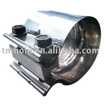 high performance aluminzed steel muffler clamps