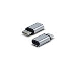 aluminium alloy shell USB Type C Male Connector to Micro USB Female USB type C Adapter