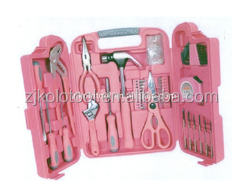 Pink Lady Tool Set ,China Wholesale Tool Kit Hand Tools(Set Of Tools,Tooling Kits)