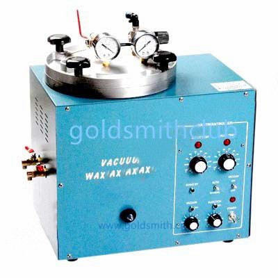 Mini Vacuum Wax Injector +(Free) 1kg wax , Jewelry wax injection Machine , gh-0065 Boking Jewelry tools , warranty one year