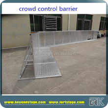 portable concert road safety barrier for big event use