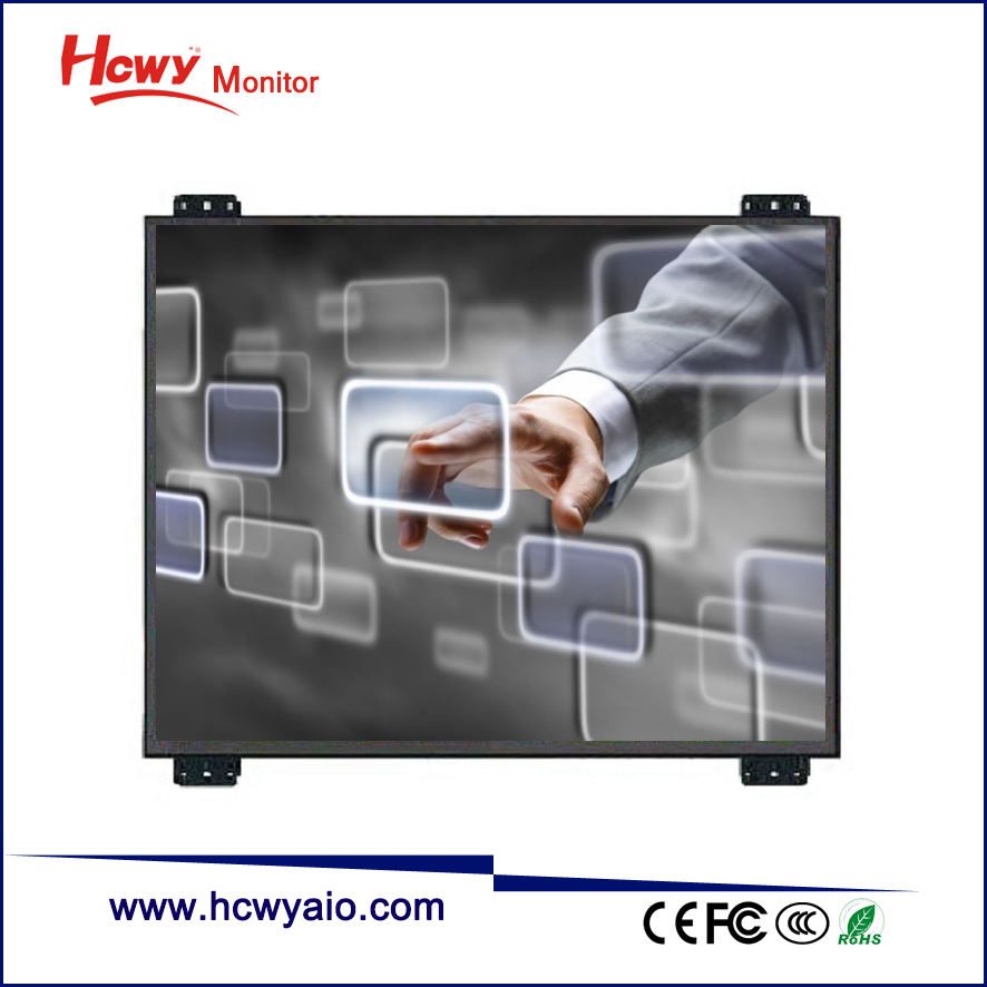 Embeding 7inch 4:3 Square Screen 800*600/1024*768 TFT LCD General Touch Open Frame Touch Screen Monitor