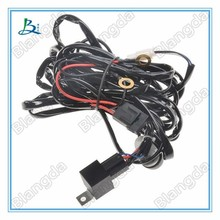 One DT 2 pin Wiring harness 12V DC on/off control relay switch, LED work light LED light bar wiring harness kit