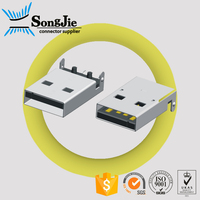 usb type vertical male usb connector a type laptop internal usb port