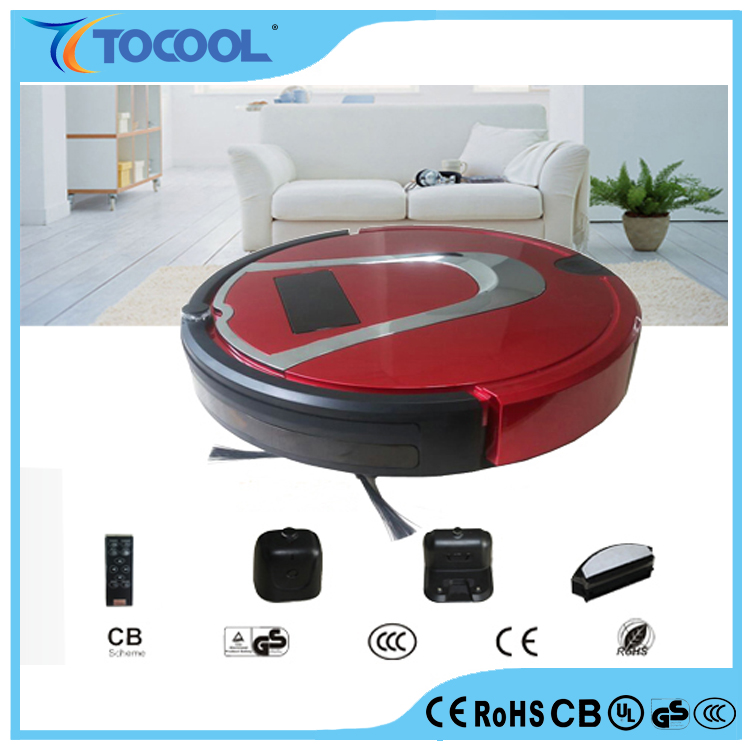 Auto clean anti-falling smart carpet floor vacuum cleaner with mopping household cleaning