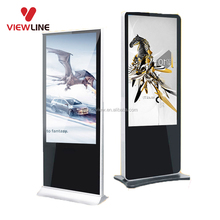 Ground Standing 42 Inch LCD Video Polishing Machine Advertising Display Ads Lcd Tv