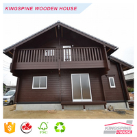 Beautiful Cheap Wood House Prefabricated Log Home Export to Japan KPL-059