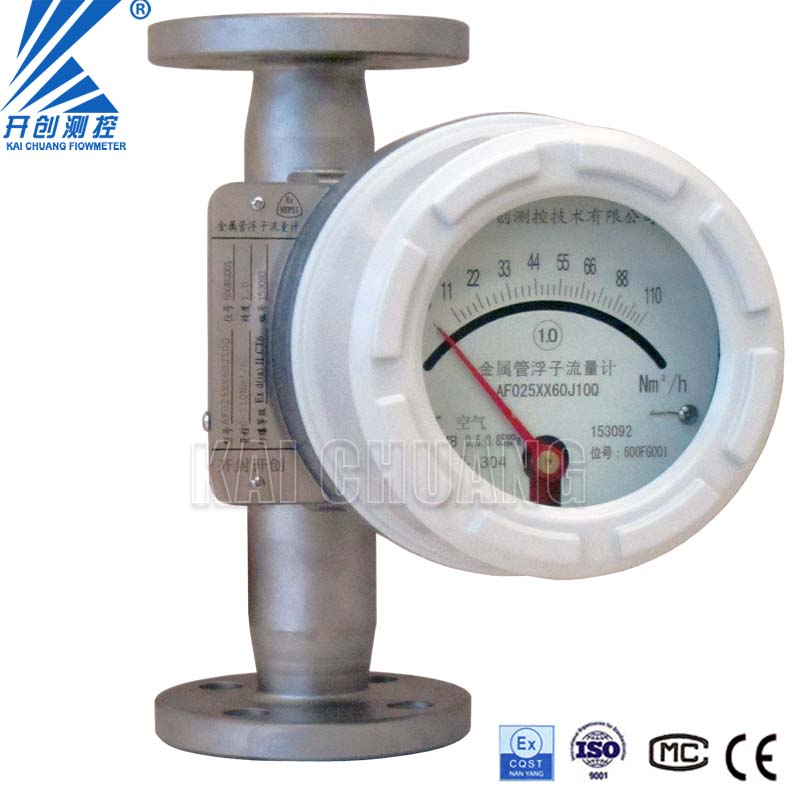 Water measuring device Metal Tube Flowmeter Rotameter with Explosion Proof Optional