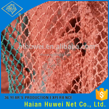 Wholesale Trawl Nien Weave Red Polyethylene Used Fishing Net