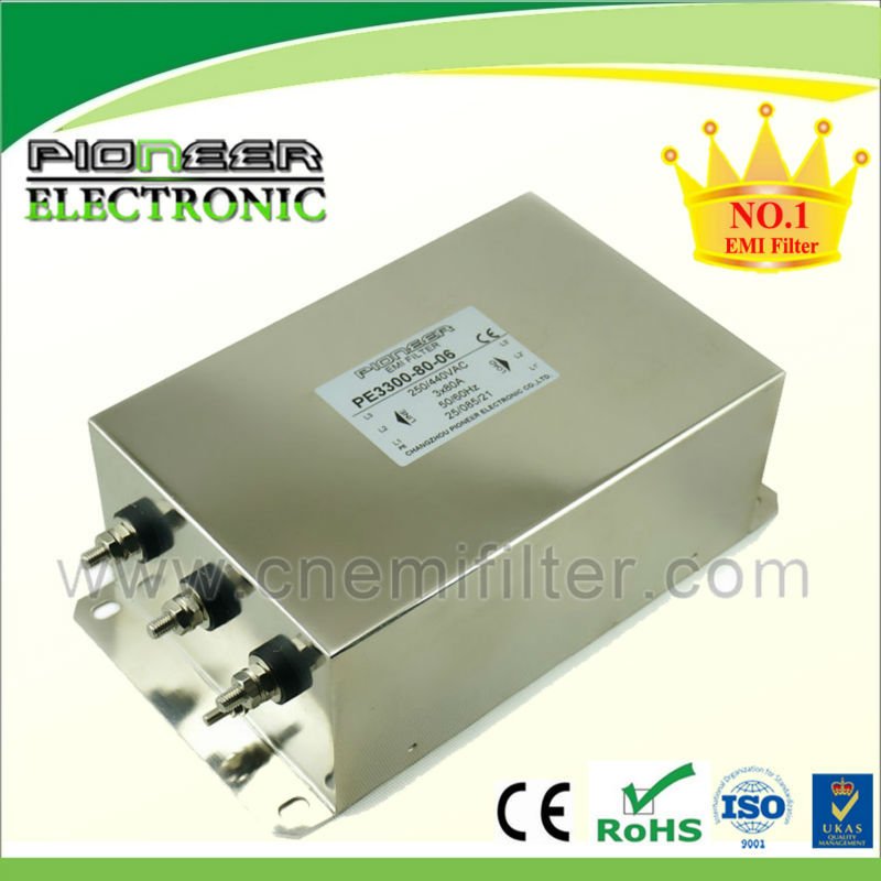 Catalog EMC PIONEER EMI EMC RFI Power Line Noise Filter