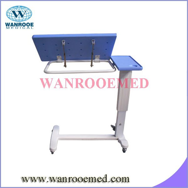 BDT001G Stainless Steel Overbed Hospital Table