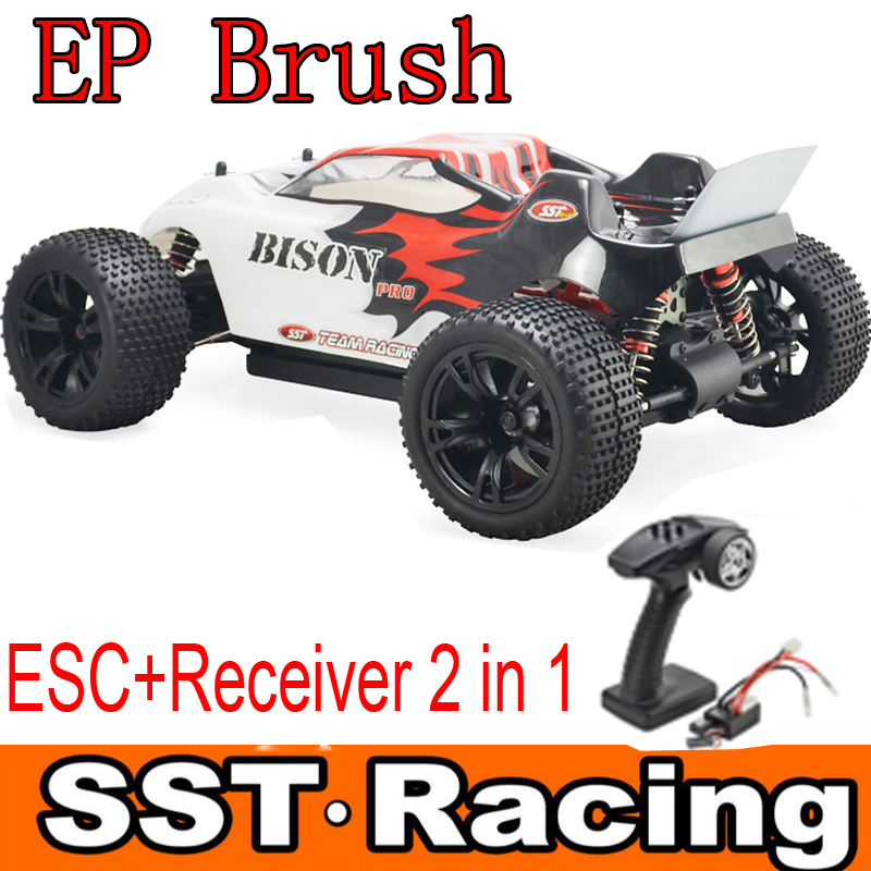 rc car electric 1/10 4wd off road brush rc truggy remote control car toys