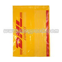 Custom Logo Printed Dhl Express Shipping Envelope / Poly Mailer / Plastic Courier Mailing Bags