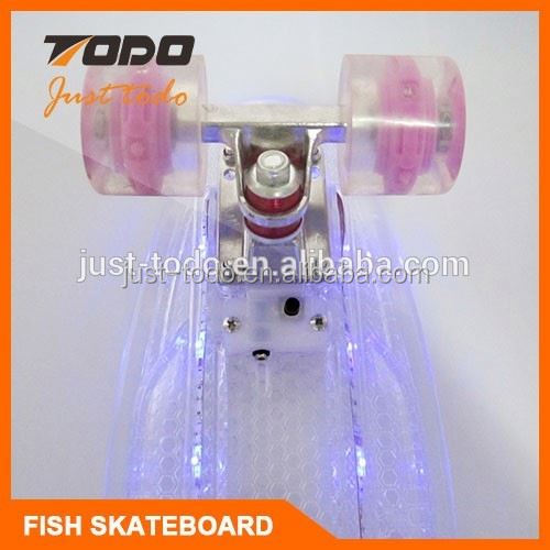Gas Powered Fiberglass Skateboard
