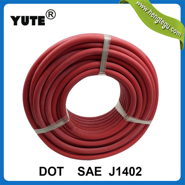 compression parts 3/8 inch sae j1402 air brake hose assembly for motorcycle