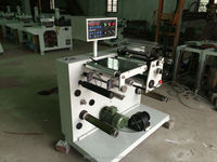 JFQ-320 small slitting and rewinding machine for paper, adhesive label, film(CE certificate)