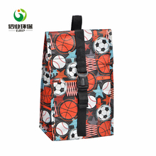 Wholesale laminated pp woven travel refrigerated portable cake cooler bag
