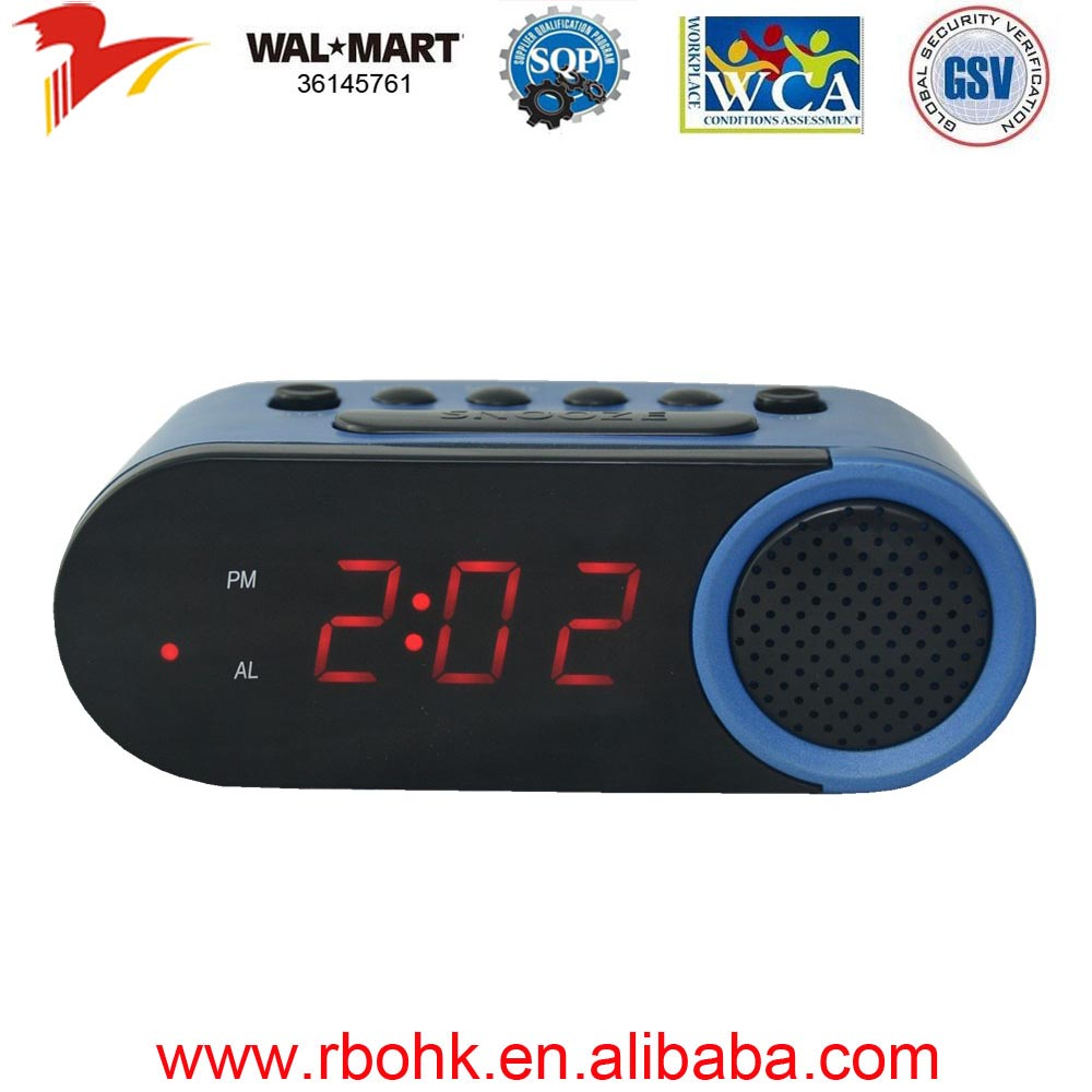 running alarm clock for children
