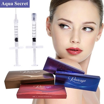 Cross linked hyaluronic acid prefilled syringe injection derma filler for face