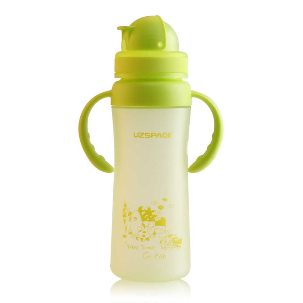 new design children water bottle single wall drinking colorful bottle