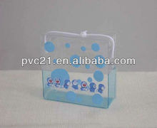 2012 style clear waterproof cosmetics pvc bag