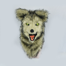 Wolf moving mouth mask with mover mouth mask wholesale design OEM ODM OBM manufacture factory party Halloween outdoor holiday