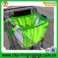 wholesale custom foldable shopping cart bag with you own logo