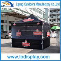 Custom Printing Tent With Half Walls Pop Up Canopy For Advertising