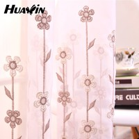 decoration beads string macrame embroidery curtain Embroidered transparent gauze shade factory production