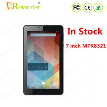 In Stock 7 Inch MTK8321 Quad core 1.3GHZ 1G RAM 8G ROM Tablet 1024*400 2G 3G Calling Tablet PC Android 5.1
