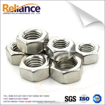 ASME/ANSI B18.2.2 A2-70 Hex Nut Stainless Steel 304 For Building