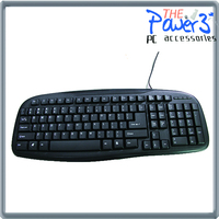 Wholesale original china supplier standard Wireless Keyboard with touchpad for raspberry pi