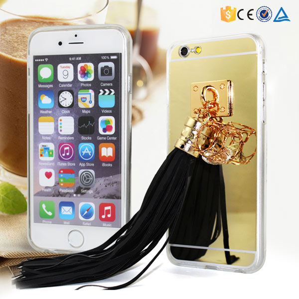 wholesale tpu phone case with mirror cover for iphone 6s made in phone case factory