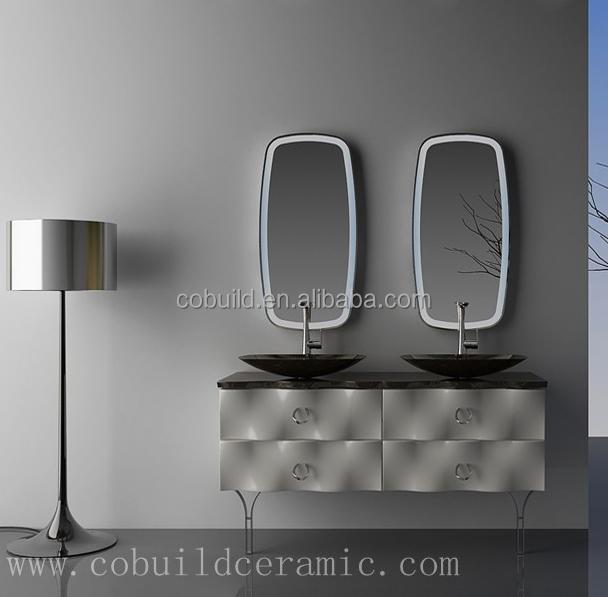 Wastafel Badkamer Stinkt ~  Wandmontage rvs driehoek hoek badkamer spiegelkast 7041 te maken