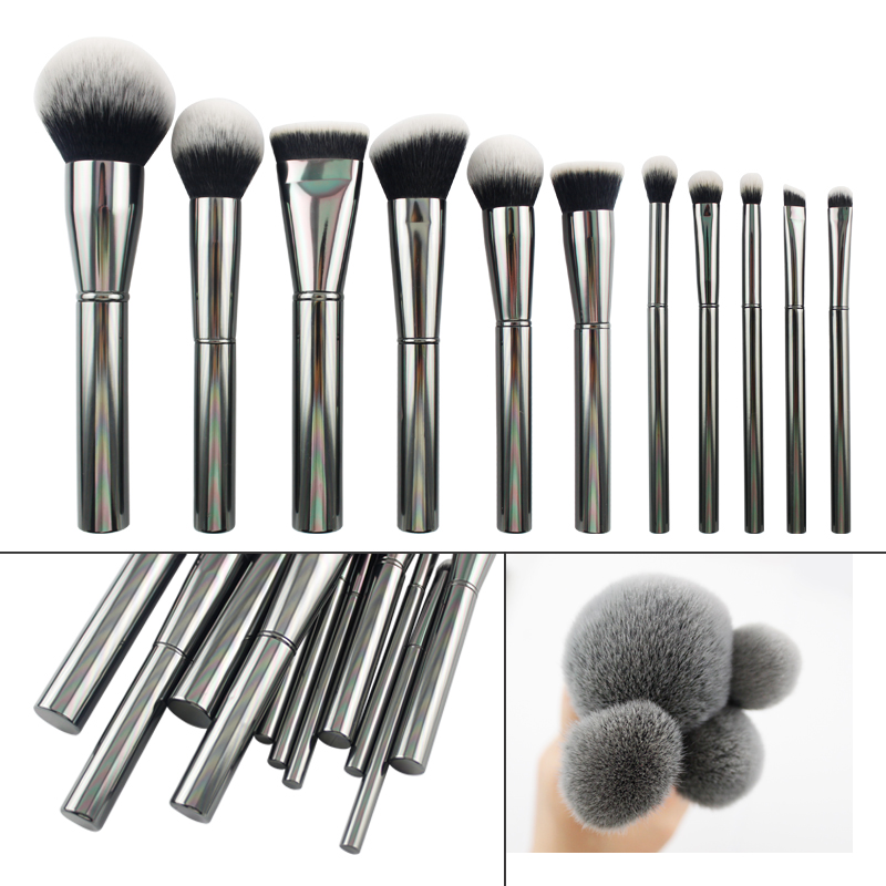 Pretty high quality personalized makeup brushes makeup brushes manufacturers china custom logo makeup brushes