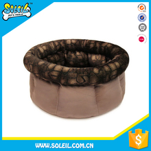 Cute Design Portable Plush Luxury Pet Bed