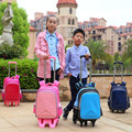 New Arrival Fashionable School Bus Kids Trolley School Bags High Quality Trolley School Bags Kids School Bags With Trolley