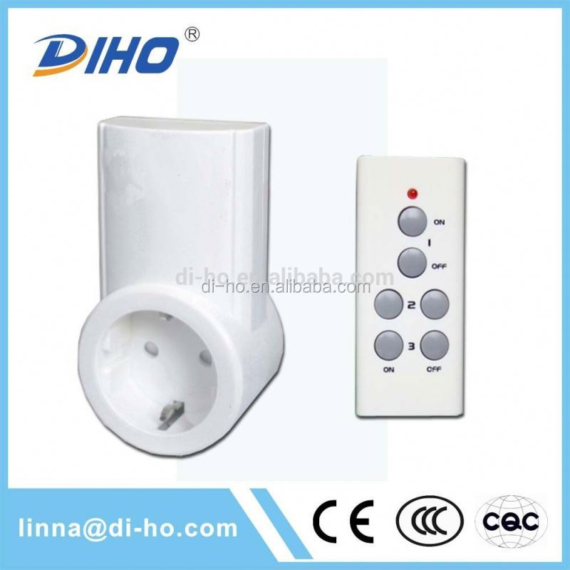 Waterproof microwave 5-8km los digital wireless remote control switch