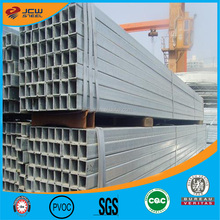 ERW Galvanized Rectangular Squaare Tube Pipe for Oil Gas Pipeline
