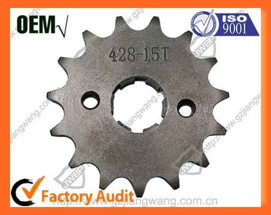 Chinese Manufacturer Motorcycle Chain Sprocket CG125 for Sale