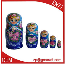 Factory japanese nesting doll,wooden nesting dolls