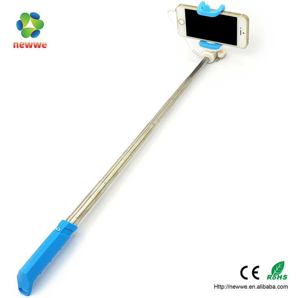 mini selfie stick with shutter button custom handheld monopod stick with telescopic handle buy. Black Bedroom Furniture Sets. Home Design Ideas