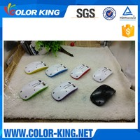 Sublimation Blank wireless gaming mouse optical mouse custom 3D heat transfer printing wireless mouse with color available