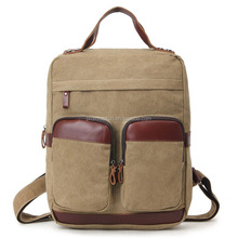 Fashion European Style Backpacks Large Capacity Laptop Canvas Travelling Knapsack