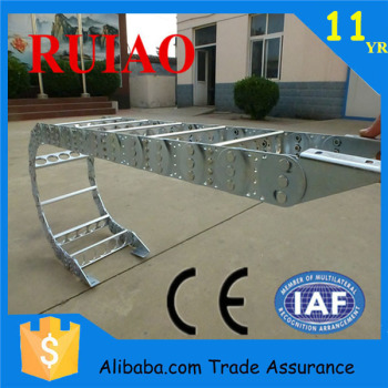 TL95 III stainless steel cable carrier flexible steel cable drag chain made in China